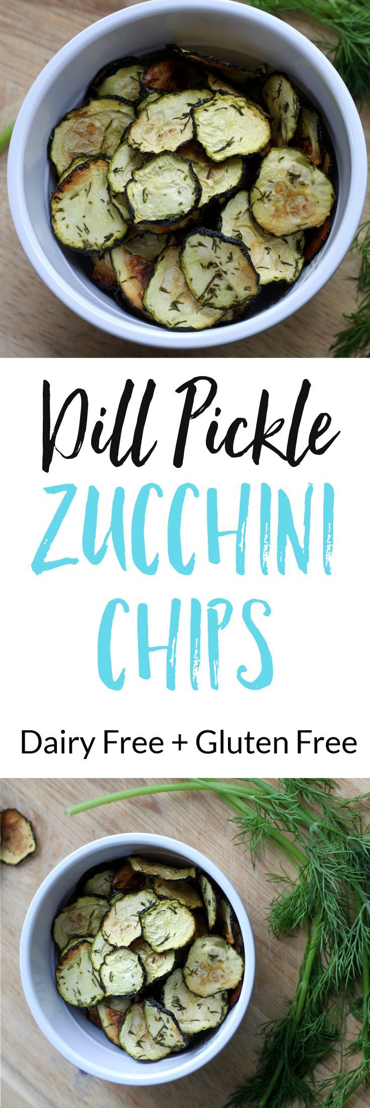 Try these easy and healthy Dill Pickle Zucchini Chips at your next party, or for your afternoon snack. via @euphorianutr