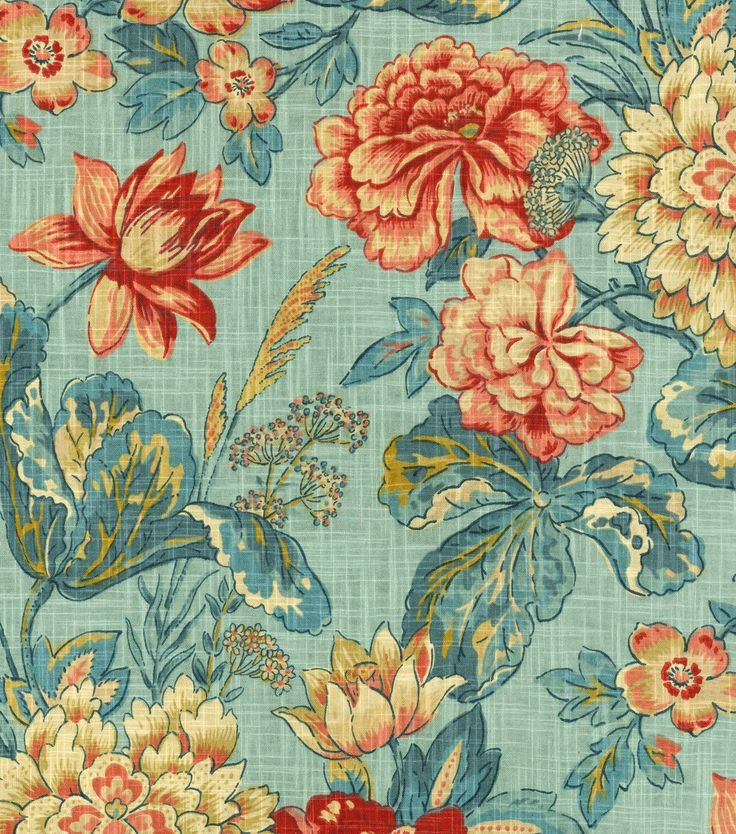 Create Lovely Projects With This Elegant Home Décor Fabric. Flowing  Gracefulu2026