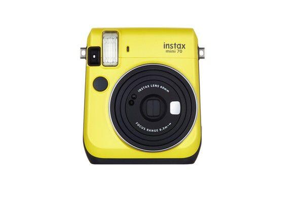 Aparat Fujifilm Instax Mini 70 ŻÓŁTY | Aparaty Instax | Sklep Internetowy Handpick.eu - starannie wybrana oferta