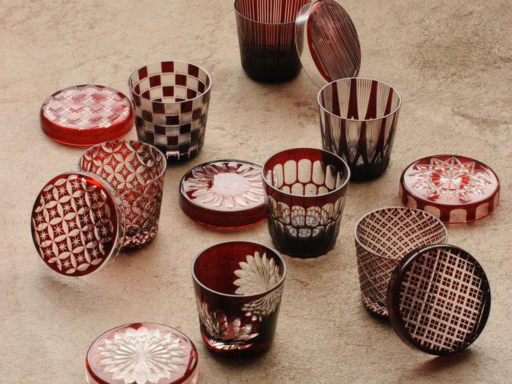Edo Kiriko (Glass) made by Hirota Glass
