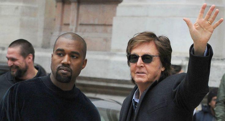Sir Paul McCartney compares Kanye Wets to John Lennon (WENN)