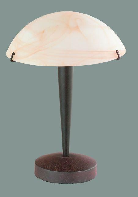 5925 - stolová dotyková lampa - hrdzavá