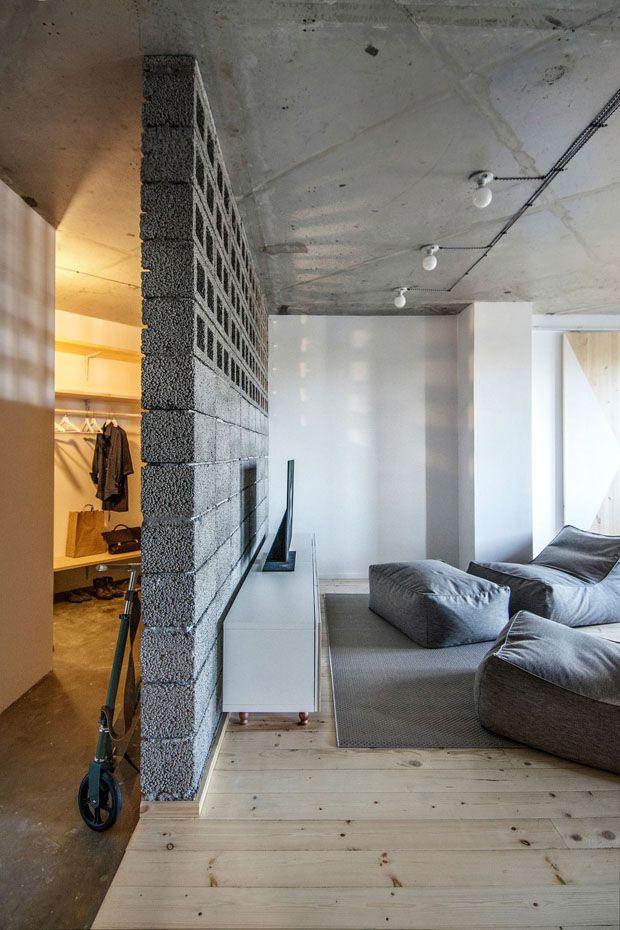 Um apartamento repleto de ideias econômicas