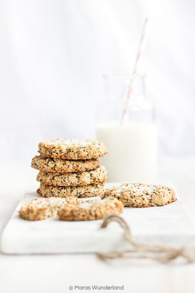 Gesunde Chia Zitronen Cookies