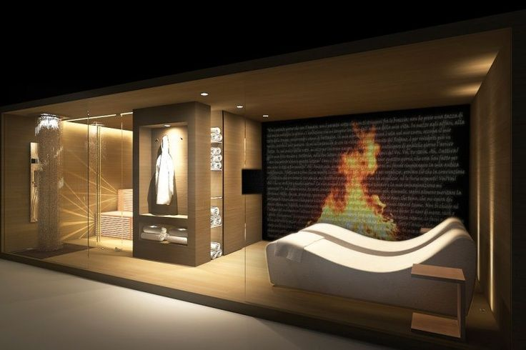 Home Spa Design Ideas: 17 Best Images About Home Sauna On Pinterest