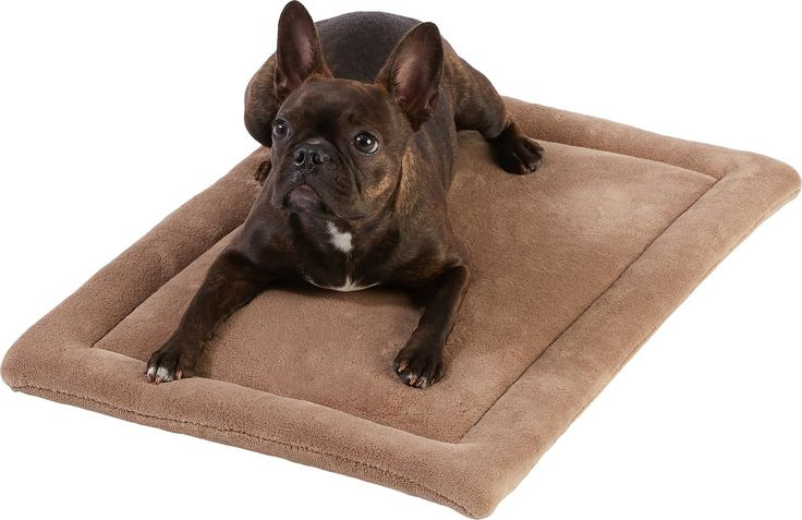 Turn your dog's house into a home with the Frisco Micro Terry Pet Bed & Crate Mat. A cozy addition to his crate or carrier, the plush design can also stand alone as a traditional pet bed. It's made with a cushioned, poly-cotton base for a layer of comfort, and the micro-terry top keeps him cool in the summer and toasty in the winter. The machine washable design means you can keep it smelling fresh and clean, and the functional size can fit just about any space. So whether you're going by ...