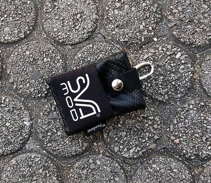 Pandoras black carbon belt pouch SVA logo