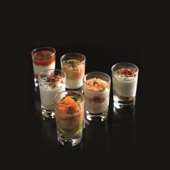 Découvrez la gamme des verrines apéritives en verre Rolph & Rolph!