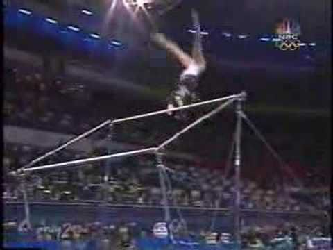 Amy Chow - 2000 Olympics Team Finals - Uneven Bars
