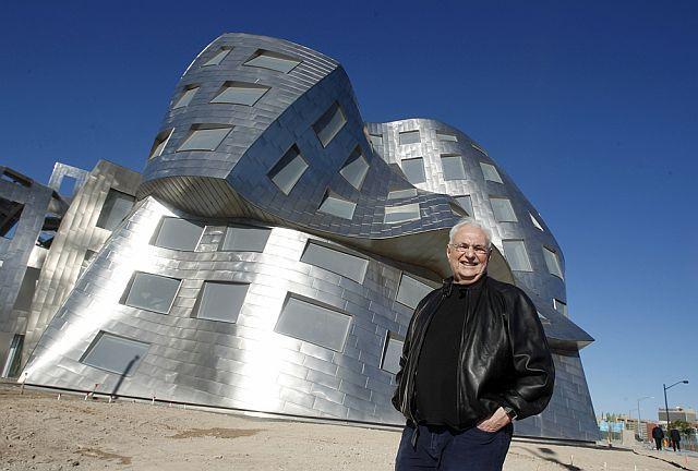 Frank Gehry, autor do Museu Guggenheim Bilbao, apresentou hoje na Guarda projecto de hotel de 5 estrelas e museu   Guarda   Portugal   Escapadelas ®