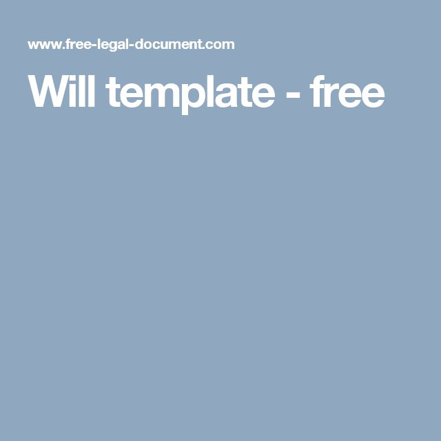 25+ beste ideeën over Will and testament op Pinterest - Templates - last will and testament form