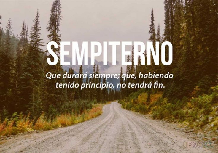 sempiterno español tu idioma