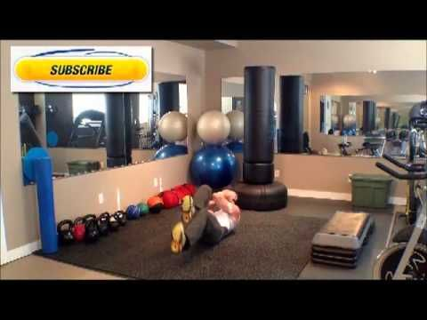Six pack abs Air Bike exercise Tutorial. Bounce Life Systems Calgary.