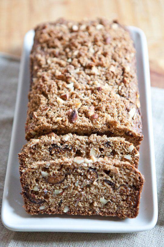 Recipe: Almond-Fig Breakfast Quick Bread — But First, Breakfast!   The Kitchn