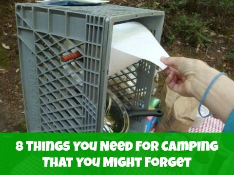8 Things You Need For Camping Make a good list to add to each year. A play tent for the kids is a must--one they can stand up in.