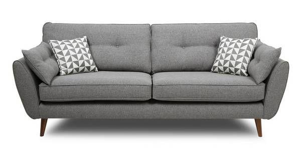 Zinc 4 Seater Sofa    DFS