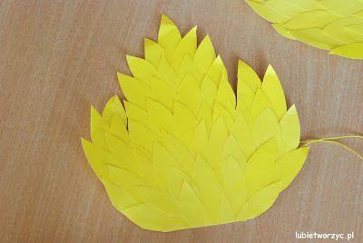 Przebranie kaczki (nr 4) - papierowe skrzydła (całość w wersji DIY)