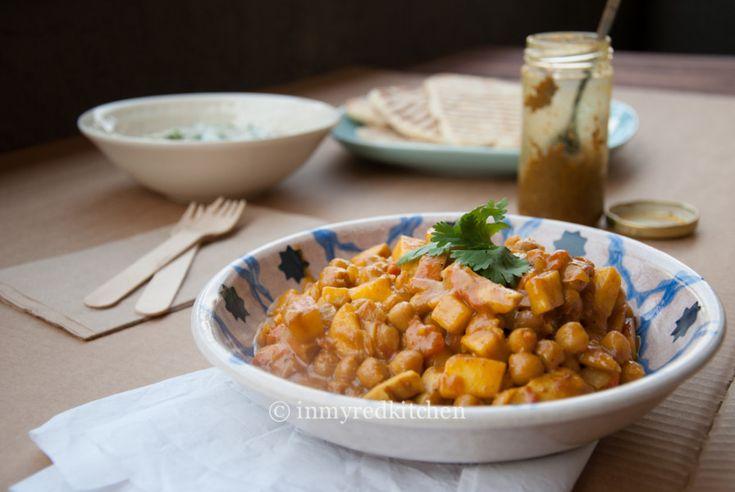 Kip Madras zonder pakjes - in my Red Kitchen