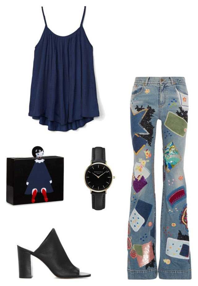merve 4 by ilaydaozer on Polyvore featuring moda, Gap, Roberto Cavalli, 1.State, Lulu Guinness and ROSEFIELD