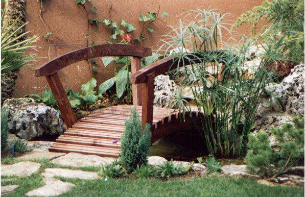 Como Hacer Un Puente De Madera Para Jardin Cerca Amb