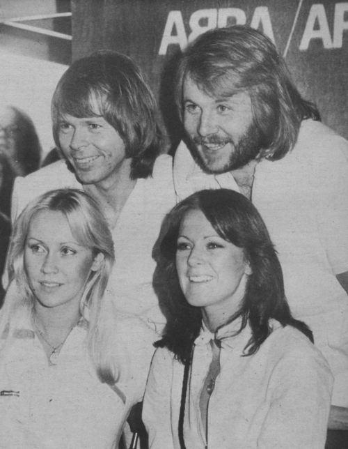ABBA: Anni-Frid Lyngstad, Benny Andersson, Björn Ulvaeus, Agnetha Fältskog