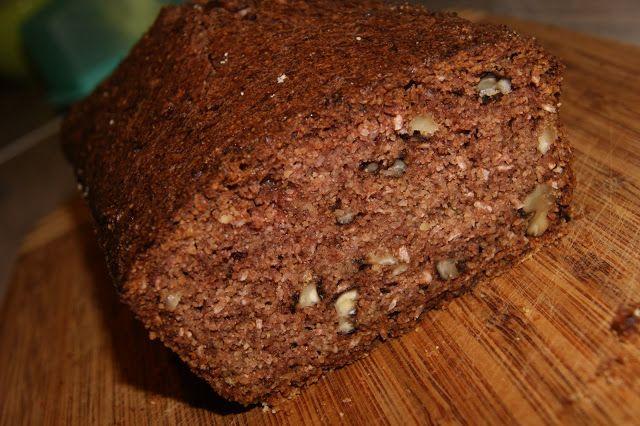 Bezglutenowe ciasto kakaowe na mące jaglanej, z cukinią i kokosem