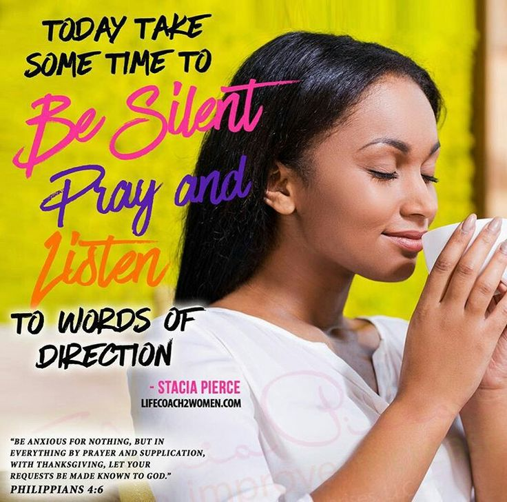 Today take some time to be silent pray and listen for direction! Your going to have a epic week!