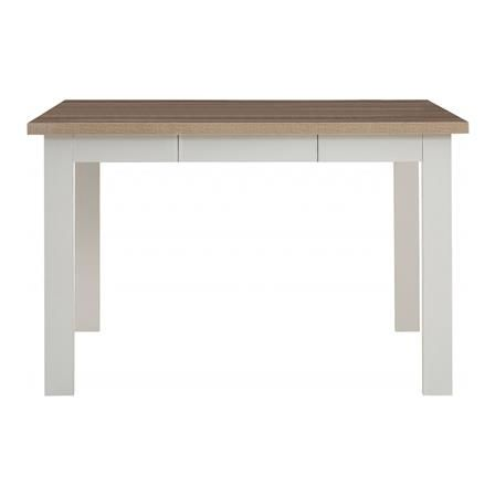 ACHICA | St Ives Large Dining Table, White