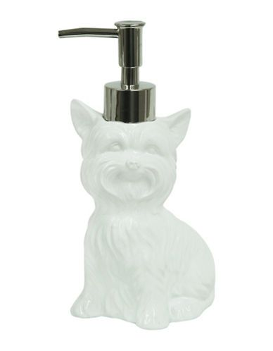 Home   Home    Terrier Dog Ceramic Lotion Dispenser   Hudson's Bay