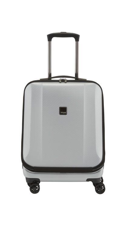 Titan Xenon Deluxe Business Wheeler Cabin Silver