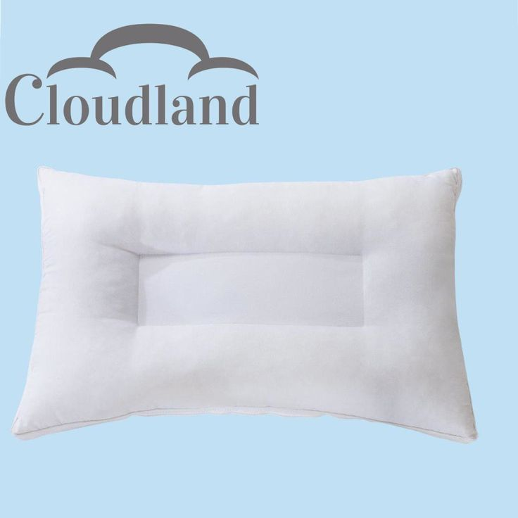 Cloudland Air Layered Neck Support Pillow - Optimal Neck Support -  Soft/Firm Support - Designed in Germany - With Super Soft Cover
