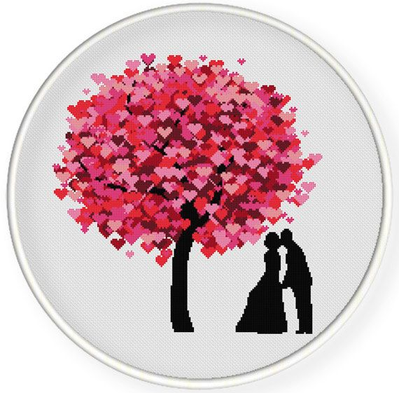 INSTANT DOWNLOAD,Free shippingCounted Cross-Stitch PDF,Best gift for couples ,valentine's day, wedding gift ,zxxc0656