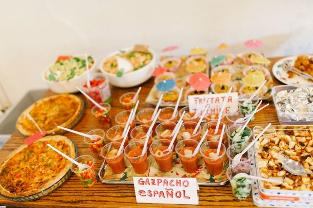 Food bars op je bruiloft | ThePerfectWedding.nl