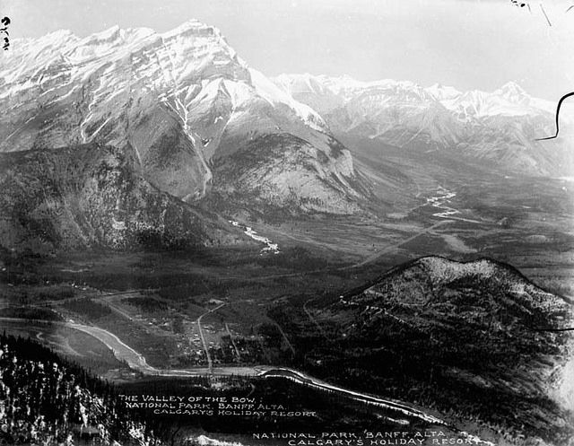 The Valley of the Bow, Banff National Park, Alberta / La vallée de la Bow dans le parc national Banff, en Alberta | by BiblioArchives / LibraryArchives