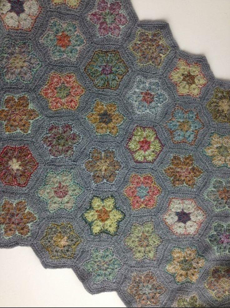 Sophie Digard crochet scarf - Bloom