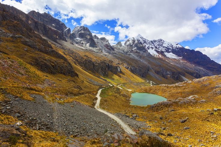Lakes formed by the melting of the snow. Andes 5000 meters by juan gabaldon on 500px