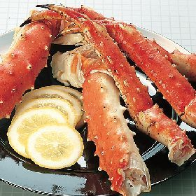 King Crab, some of the sweetest meat you will ever taste