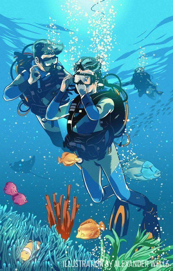 4166 melhores imagens de scuba diving magazine no pinterest - Dive training magazine ...
