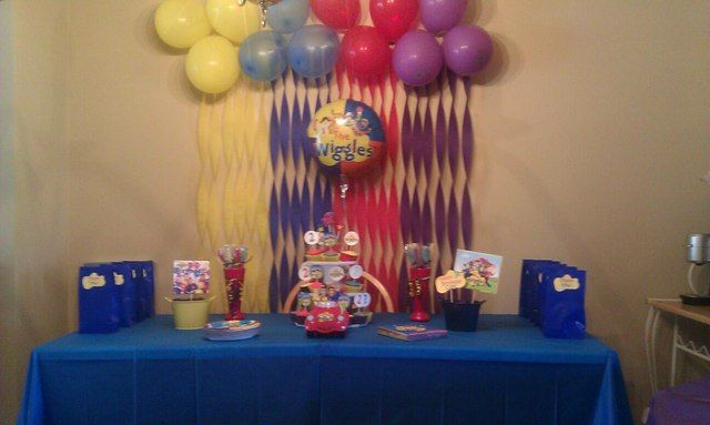 Cole's Wiggles Party(2nd Birthday) | CatchMyParty.com