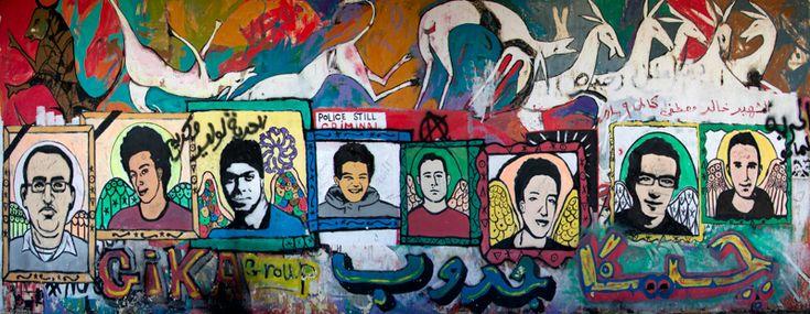 Graffiti at Tahrir Square - Cairo, Cairo