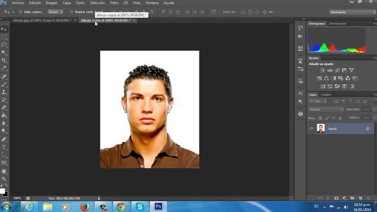 Cómo hacer una caricatura de una foto en Photoshop CS5