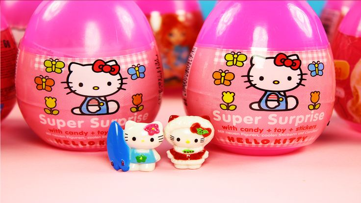 """Hello friends. Today """" Surprise Egg Hello Kitty """" We made a video to play. Cute cute 5 pieces were hidden surprise inside the egg . Maslon Media Group"""