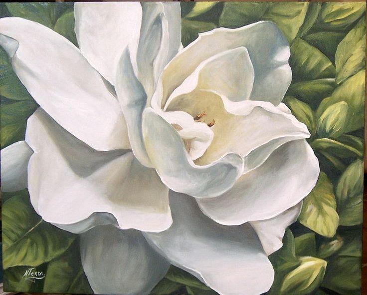 Gardenia Paintings Related Keywords & Suggestions - Gardenia Paintings Long Tail Keywords