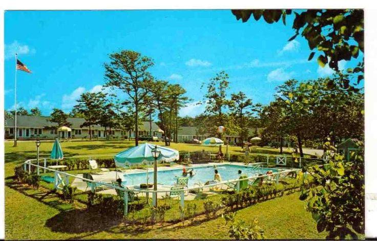 Undated Unused Postcard Ridgevale Motor Inn Chatham Cape Cod Massachusetts MA