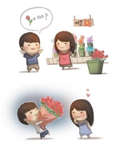 too cute!! I love these cartoons!!