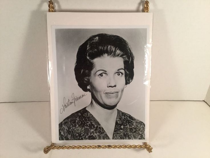 KATHLEEN FREEMAN Signed Vintage 8X10 AUTOGRAPHED Black & White Head Shot Photo in Collectibles, Autographs, Celebrities | eBay