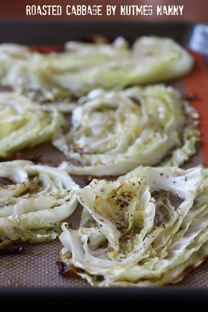 This simple roasted cabbage is perfect with your weeknight supper or on your Thanksgiving table. Perfectly roasted and full of delicious flavor.