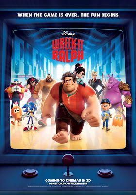 Wreck It Ralph - Family Film idea and lots of sweets to go with it!