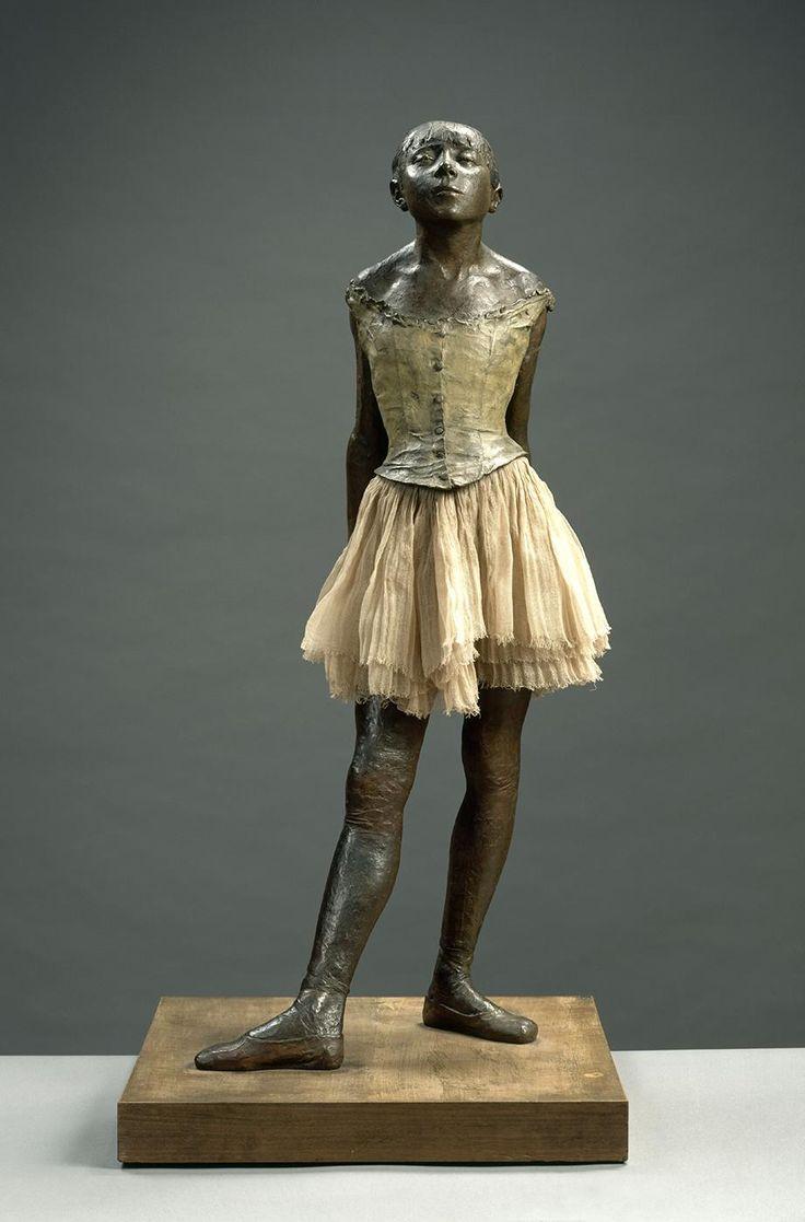 La Petite Danseuse de Quatorze Ans - Edgar Degas. Just incredibly beautiful