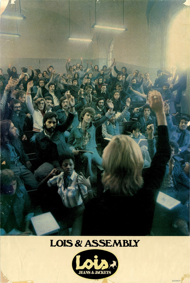 1976    'Lois & Assembly'.